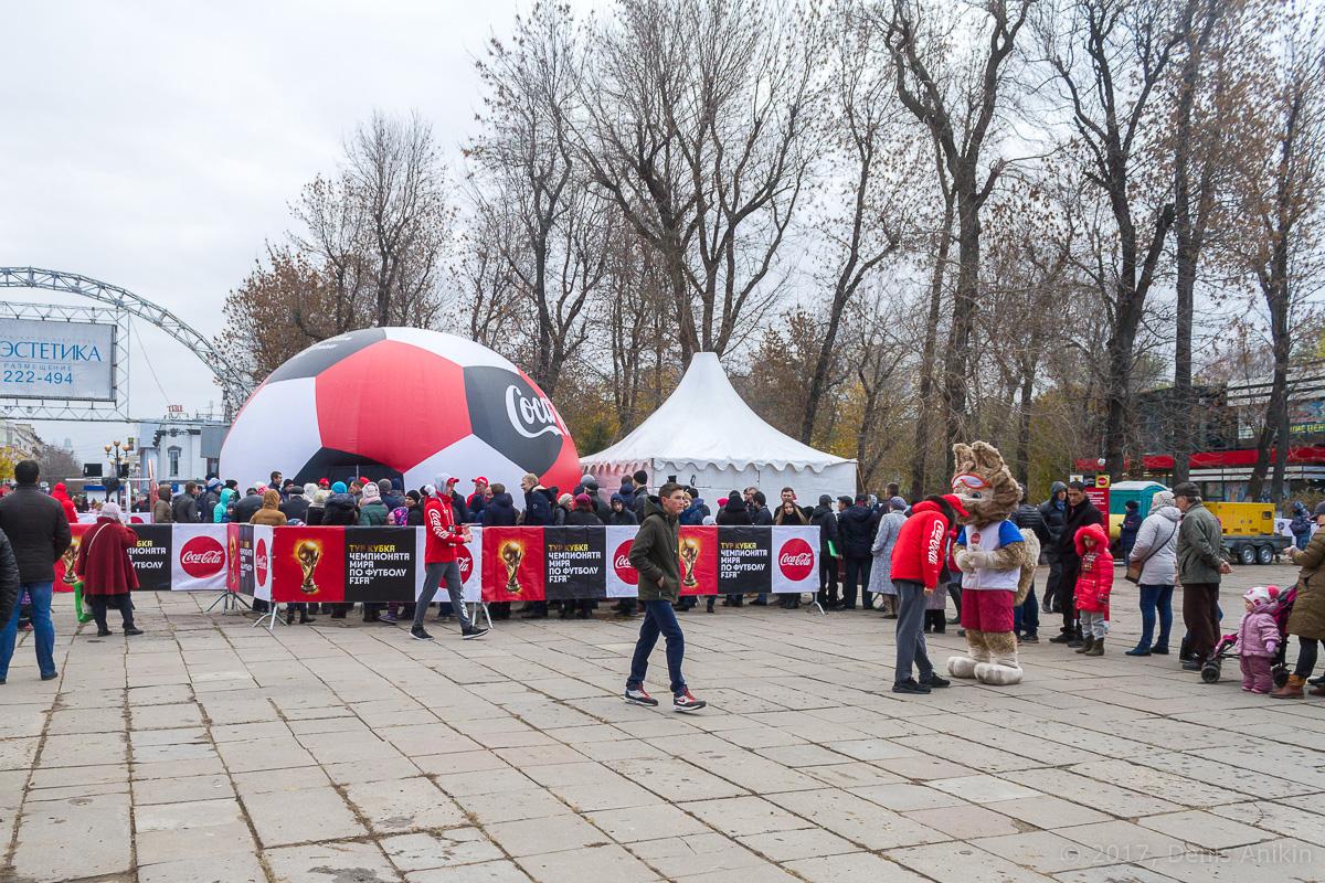 Тур кубка чемпионата мира по футболу в Саратове фото 1