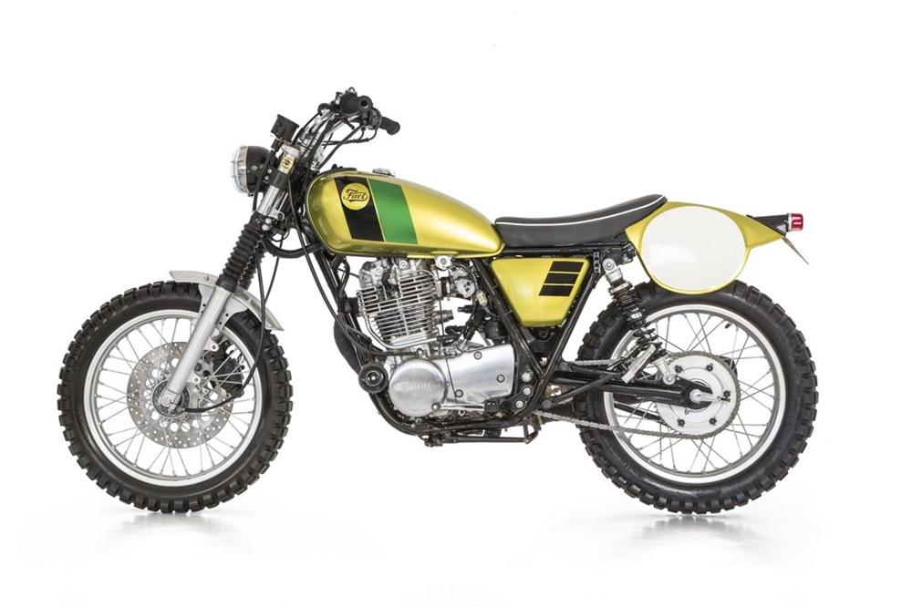 Fuel Motorcycles: скрэмблер Stileto 400 на базе Yamaha SR400