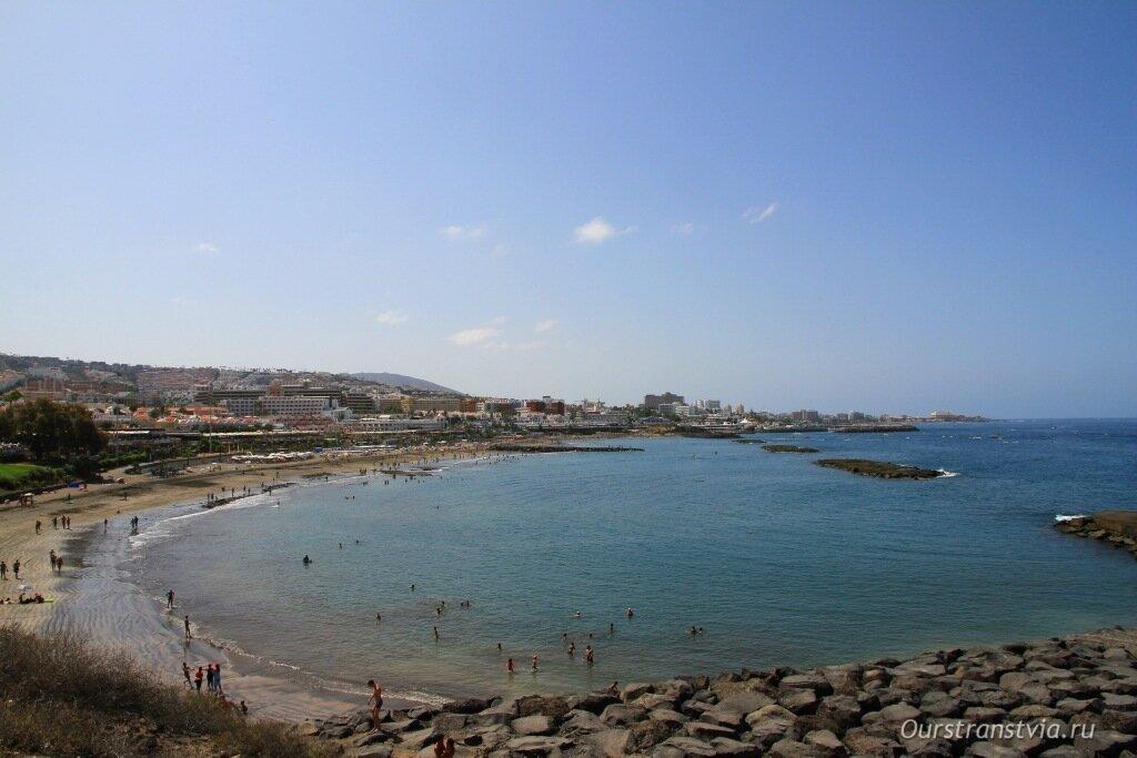 Пляж Фанабе, Тенерифе, фото пляжей