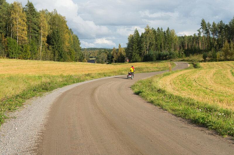 велопоход по финляндии