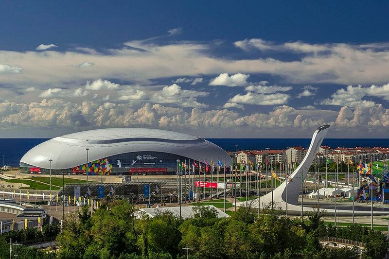 Панорама Олимпийского Парка