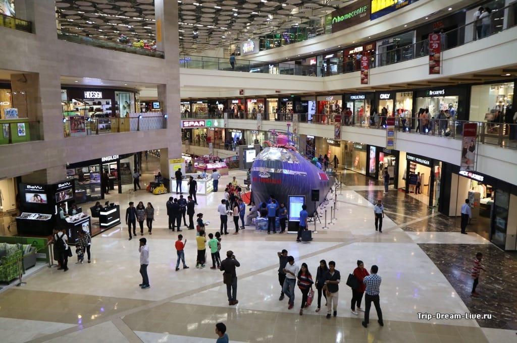 Торговый центр Pacific Mall в Дели