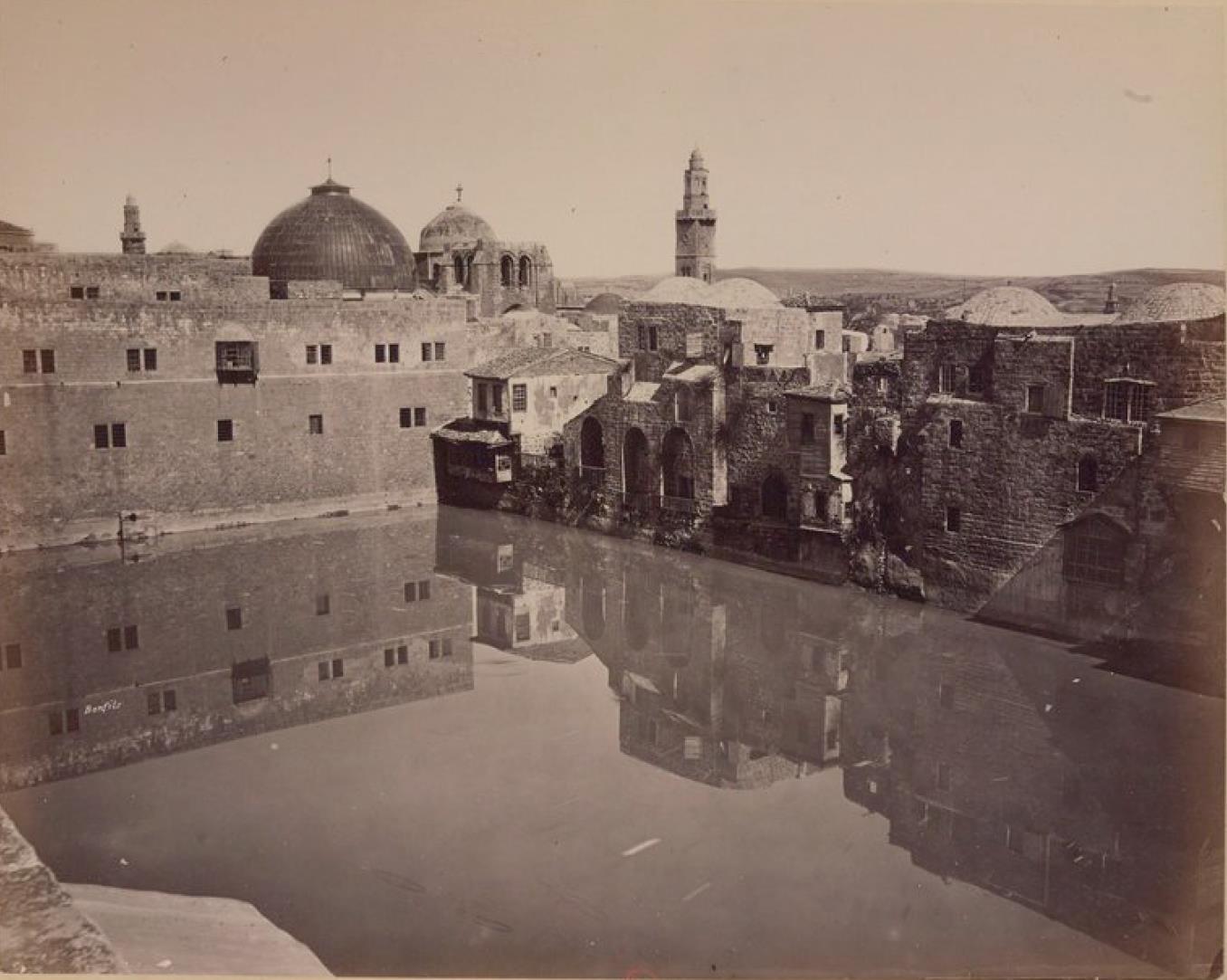 08. Иерусалим. Пруд Езекии