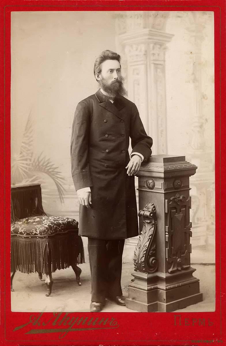 Маргаритов Николай Димитриевич, (...-1914) Протоиерей. 1890