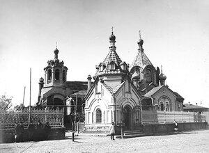 Часовня Городецкого Федоровского подворья. Наружный вид. 1894