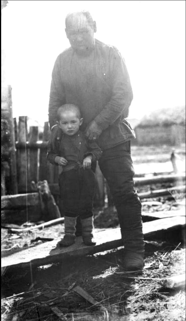 Мужчина с мальчиком