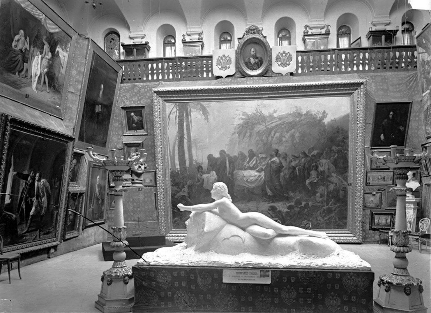 Художественный музей. Внутренний вид