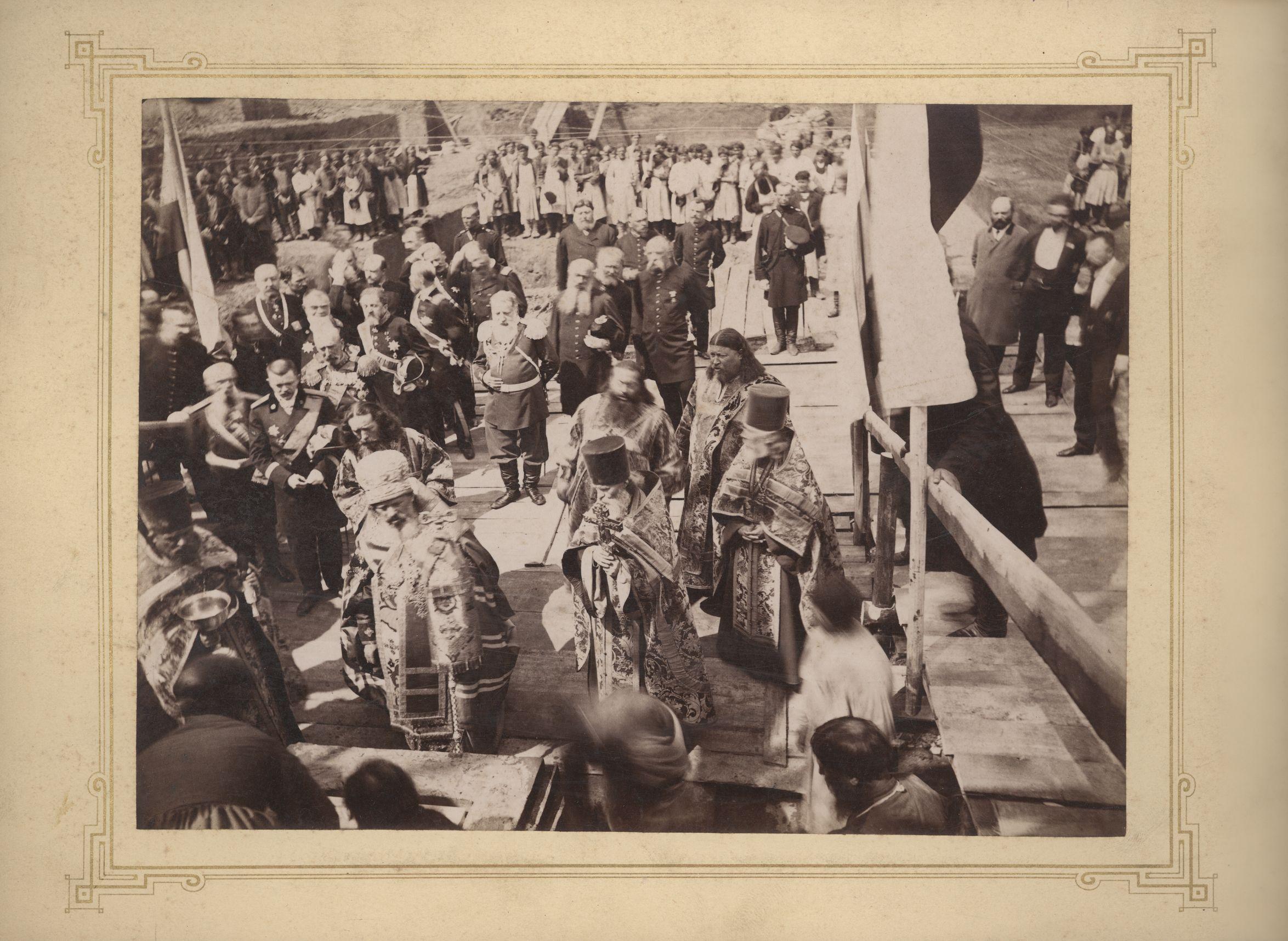 1895. Закладка Городского Николаевского театра