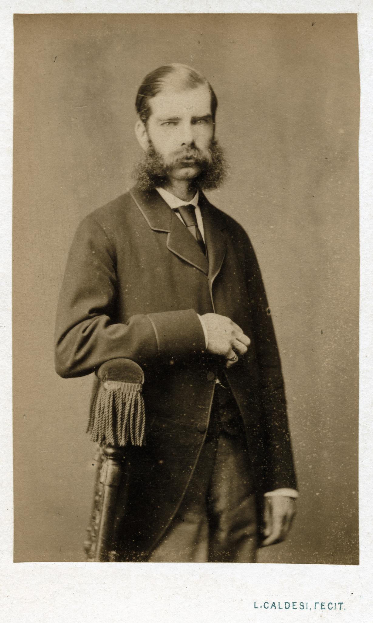 1870. Усатый человек