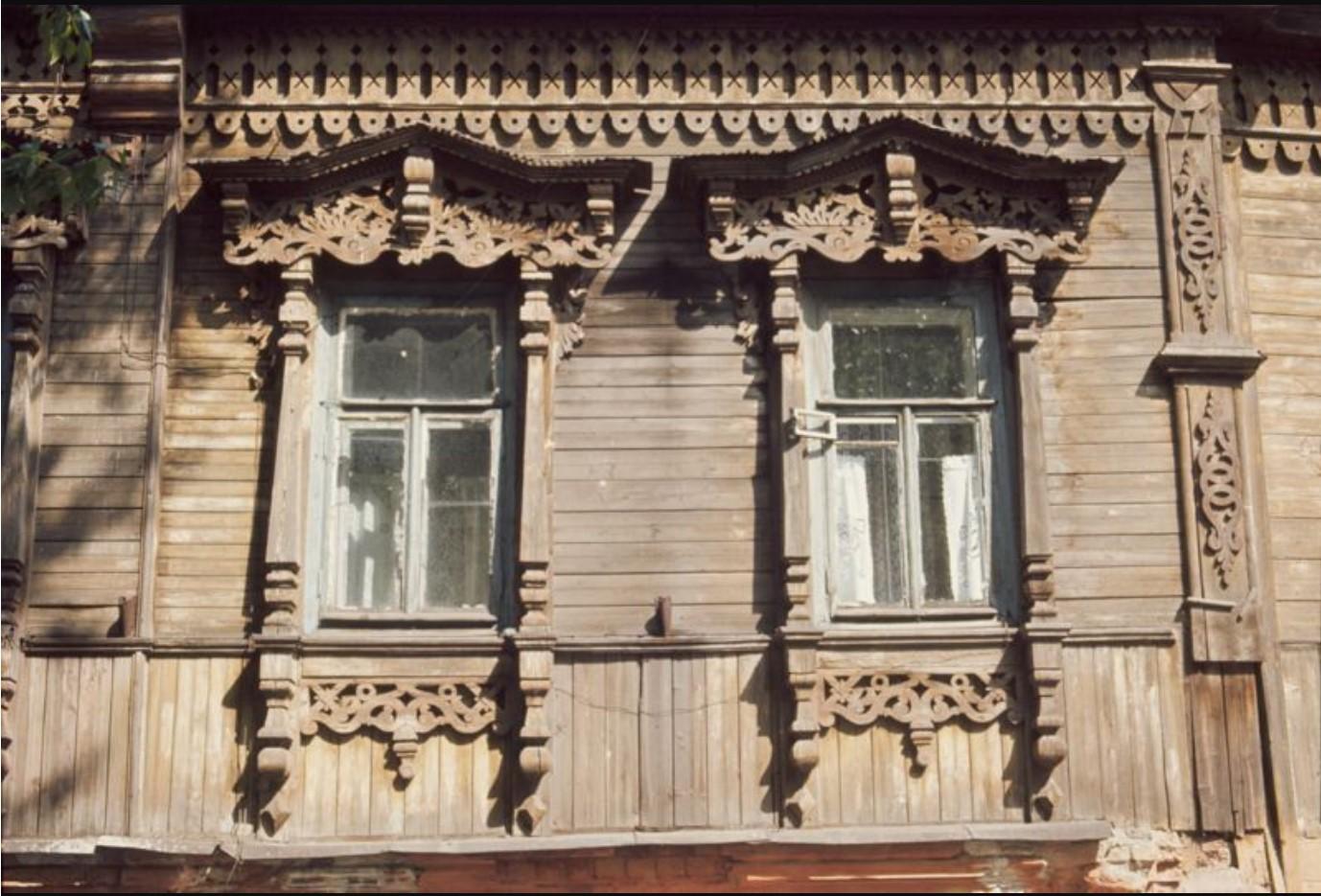 Образец деревянной резьбы
