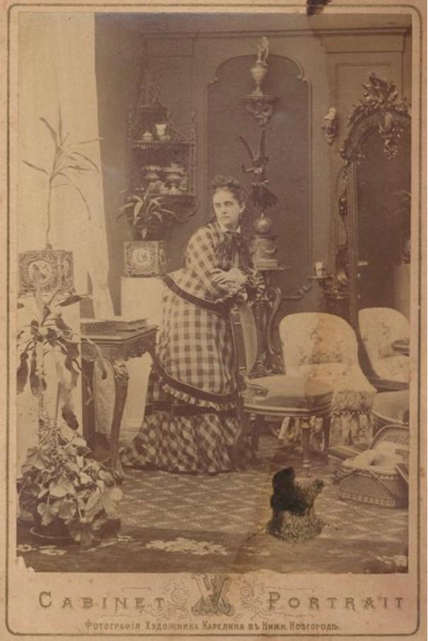 1893. Портрет неизвестной
