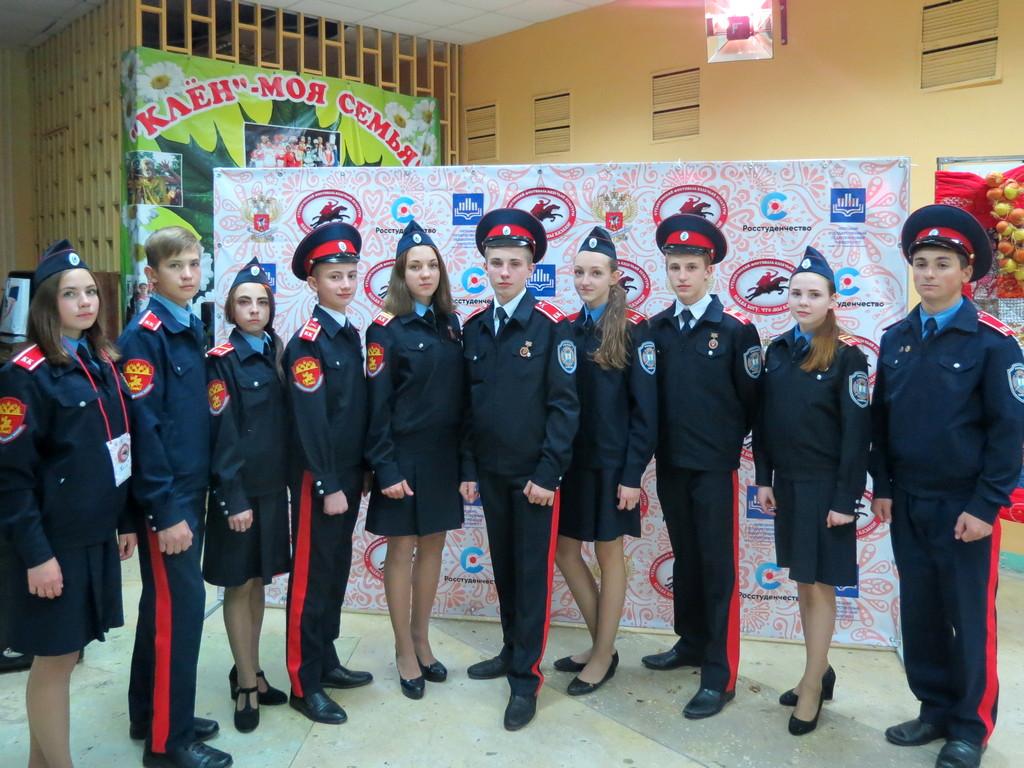 Студенческий казачий фестиваль в Липецке