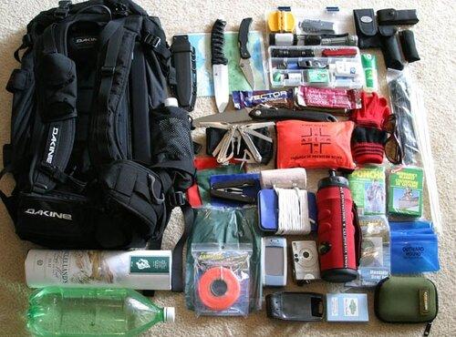 Необходимое в тревожном чемоданчике рюкзаке для охоты берложка эргорюкзак купить спб