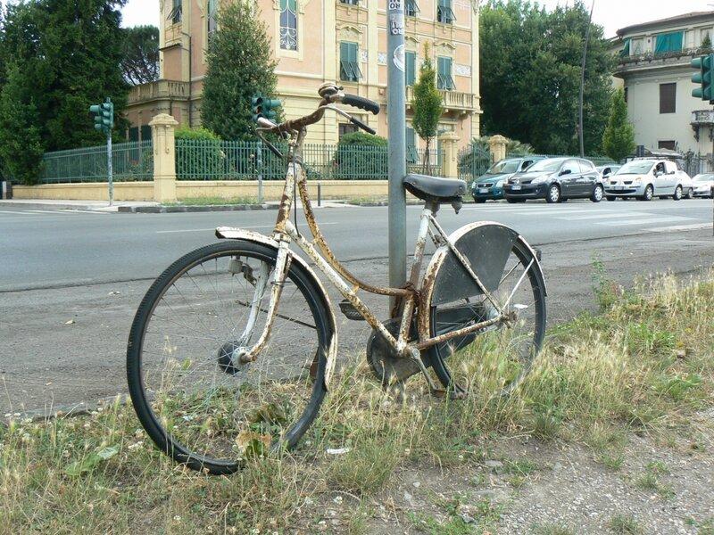 Велосипед на приколе