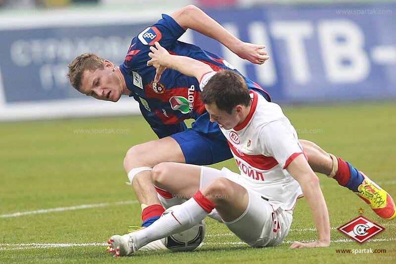ЦСКА vs «Спартак» 2:1 Премьер-лига 2011-2012 (Фото)