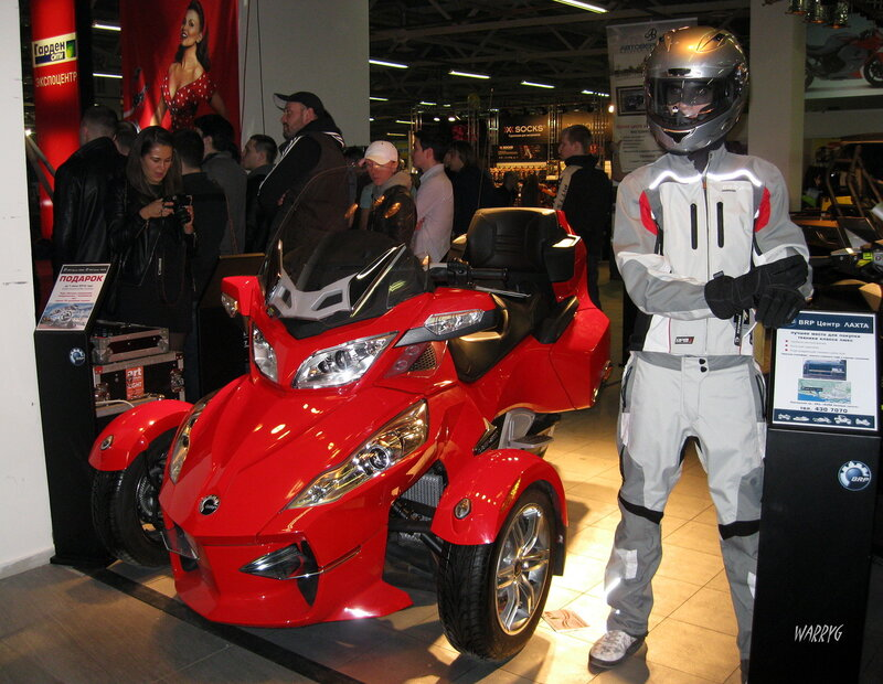 Родстер BRP Can-am Spyder RT.