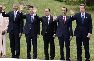 """Лидеры """"Большой семерки"""" договорились о новых мерах по борьбе с терроризмом"""