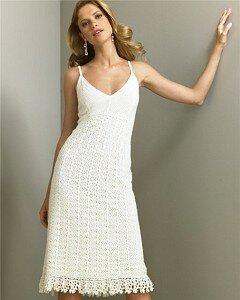Грациозная лилия-платье и болеро крючком