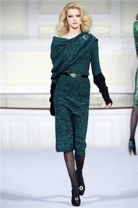 Меланжевое настроение в платье от Оскара Наши воплощения