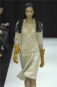 Платье спицами-Rodarte Knit