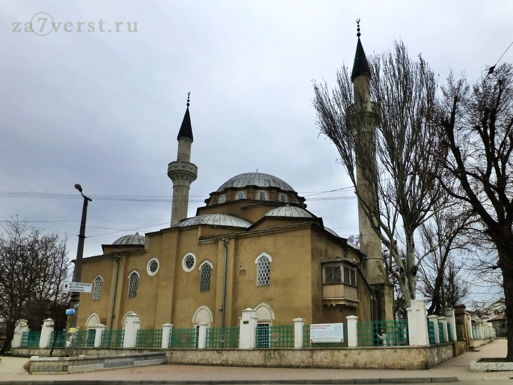 Крым, Евпатория, мечеть, фасад