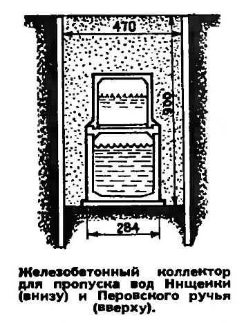 Двухуровневый коллектор схема
