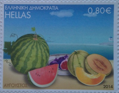 греция 2014 фрукты 0,80