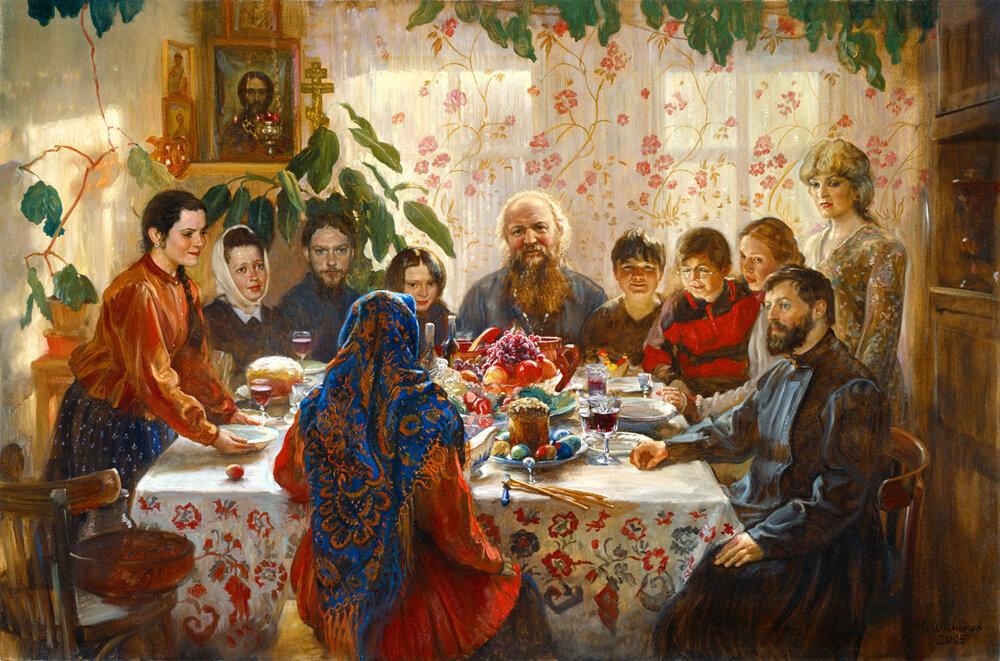 Михаил Юрьевич Шаньков (род. 29.07.1962) - Пасха, 2005 г. //  Mikhail Shankov - Easter, 2005
