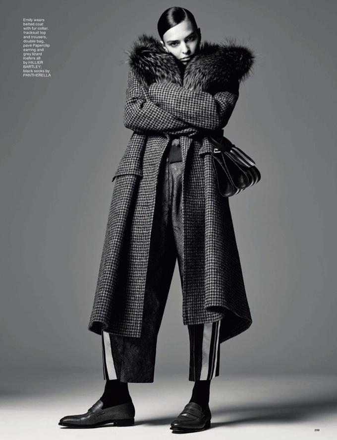 Эмили Ратажковски в LOVE Magazine