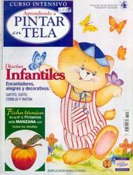 Журнал Aprendiendo a Pintar en Tela N4 2003