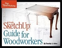 Книга Google SketchUp Guide for Woodworkers.