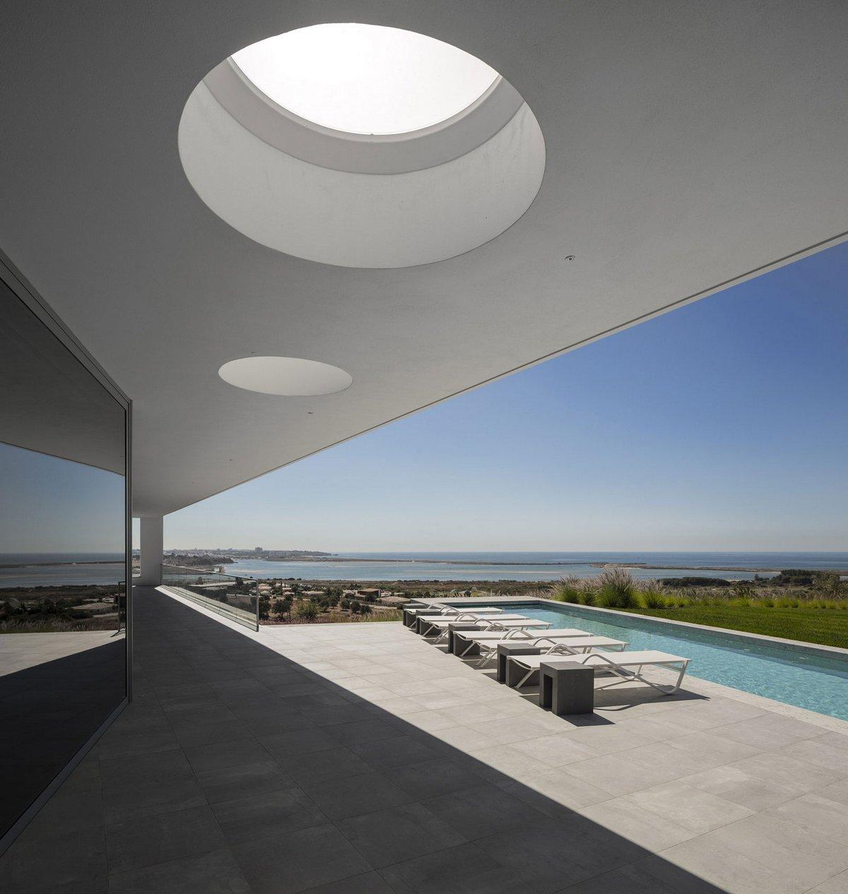 Mario Martins Atelier, Zauia House, обзоры частных домов, обзоры роскошных домов мира, шикарный дом в Португалии, схема дома, одноэтажный дома фото