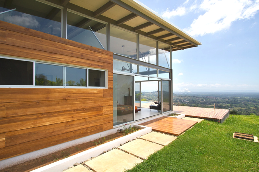 Резиденция Casa Mecano от RoblesArq в Коста-Рике