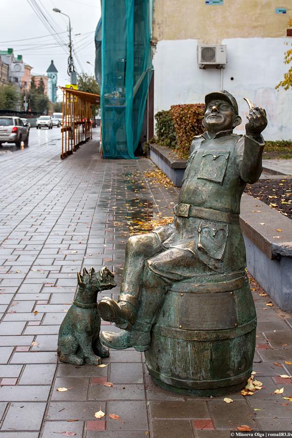 Скульптура Самары
