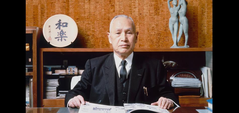 Sharp основатель Хаякава Токуджи Hayakawa Tokuji