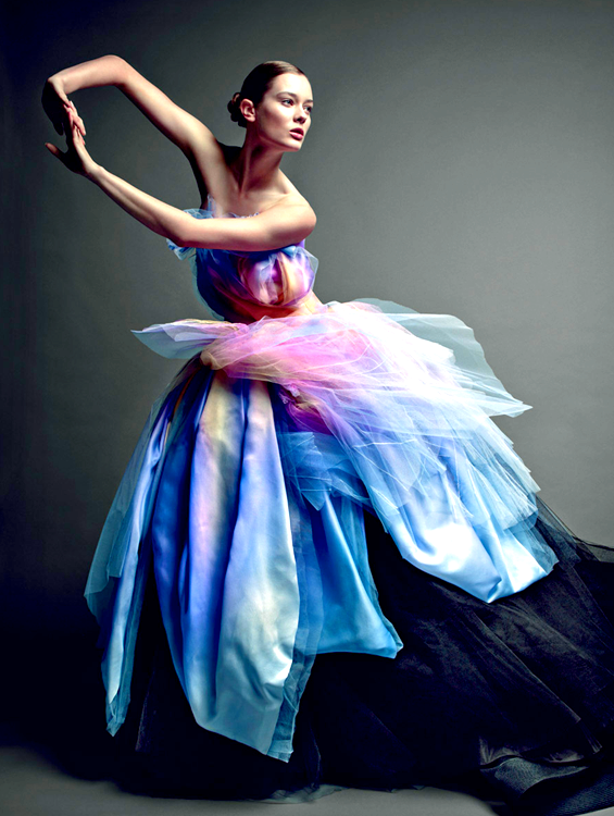Frida gustavsson by patrick demarchelier dior 2012 grand for Dior couture dress price