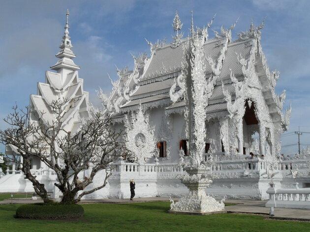Белый храм Wat Rong Khun. Таиланд