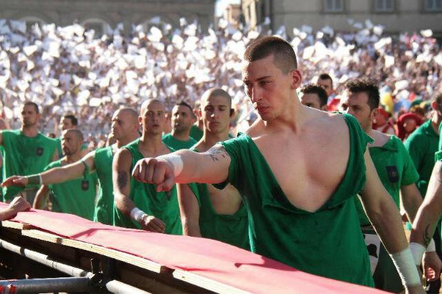 Флорентийский футбол