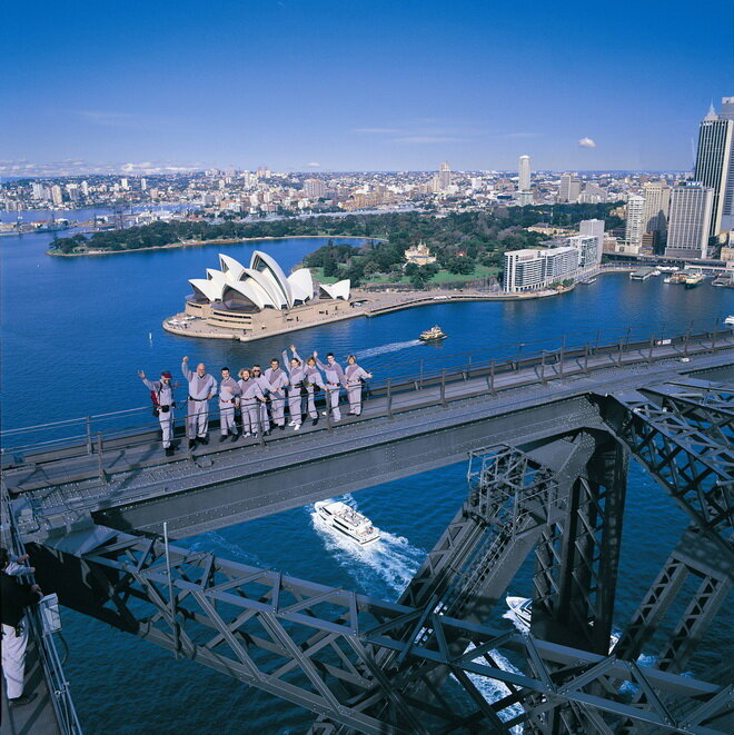 Харбор Бридж (Sydney Harbour Bridge). Сидней, Австралия