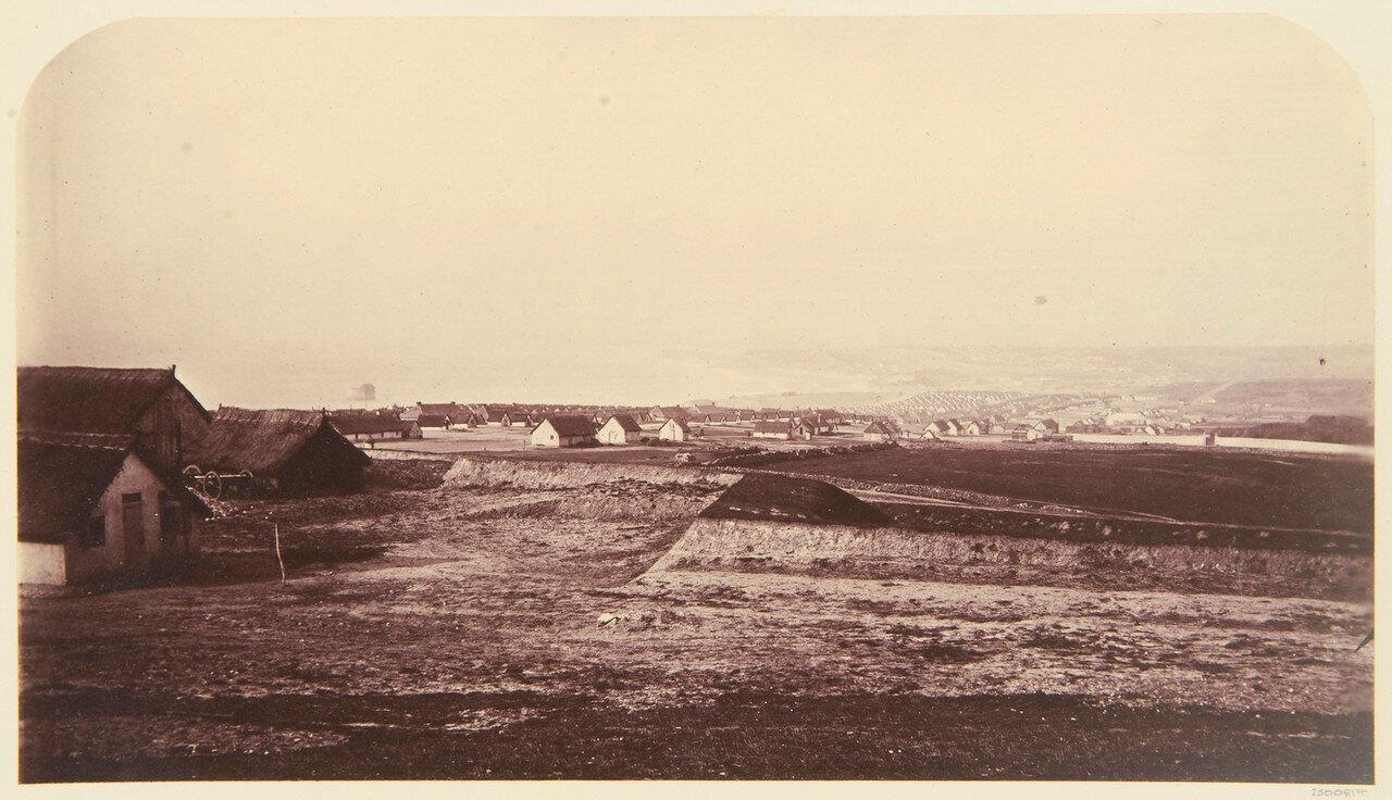 Общий вид лагеря в Булони