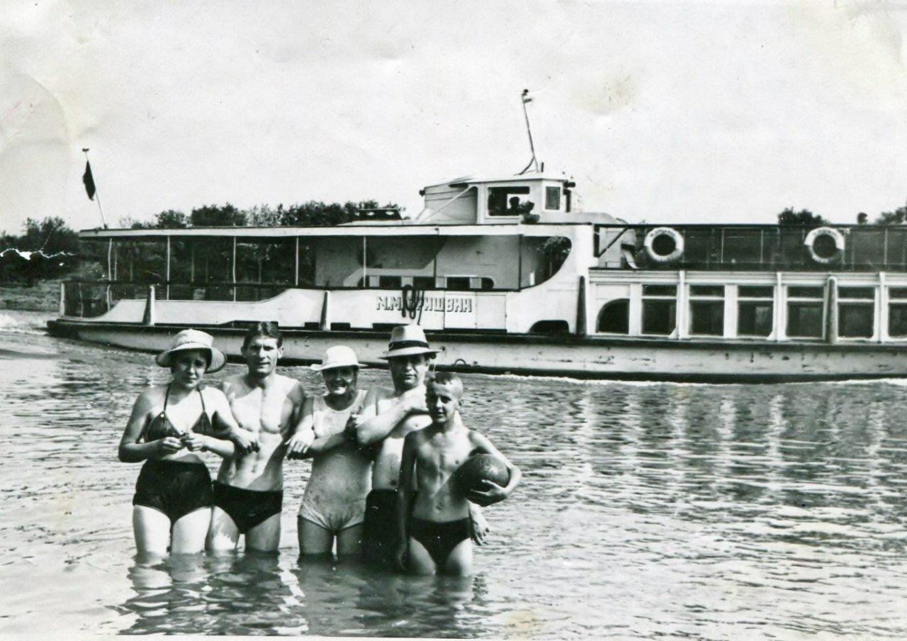 1960. На реке Вологде
