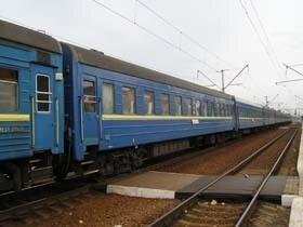 Поїзд, ж-д вокзал, залізниця