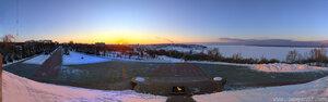 Закат закат, HDR, Чебоксары, панорама, город, HDR