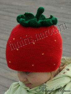 вязание крючком. для детей. шапочка.