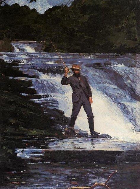 У.Хомер Рыболов 1874 г.
