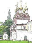 Башня и надвратная церковь