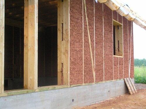 Утепление каркасного дома при помощи пенопласта и минераловатного утеплителя