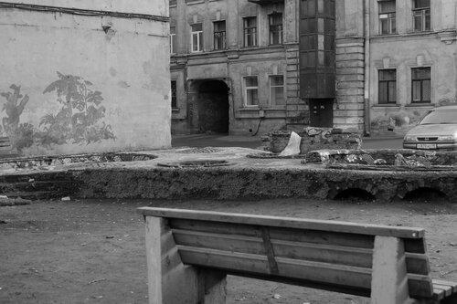 Питерский дворик