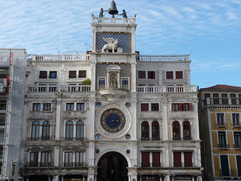 Башня часов в Венеции