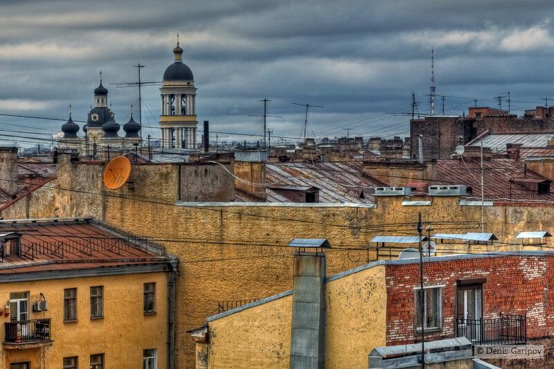 Крыши Петербурга.